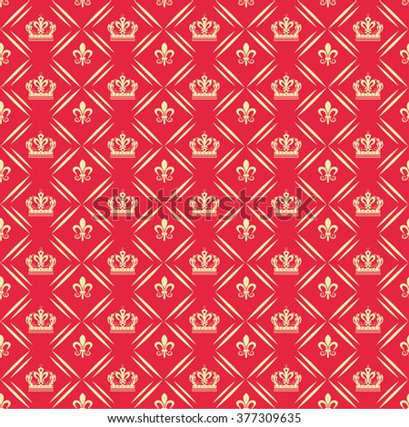 background pattern, vintage style, graphic design, vintage pattern, red - stock vector