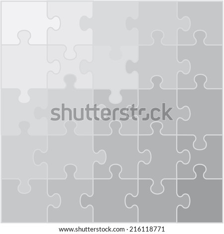 background puzzle gray shades