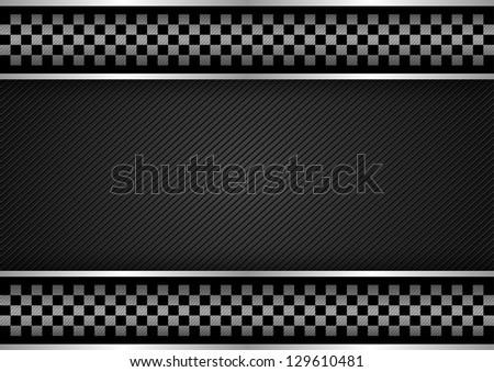 Background - Racing dark, vector illustration 10eps - stock vector