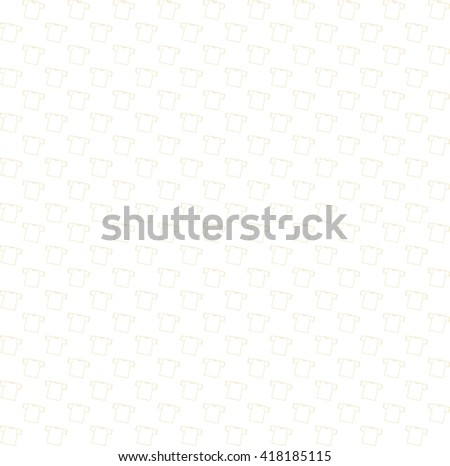 Background t-shirt vector illustration. Templates  shirts for your site.  Seamless pattern with t-shirts. Bright white background - stock vector