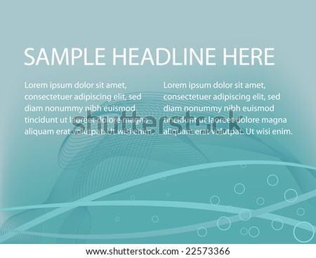 Background Template - stock vector