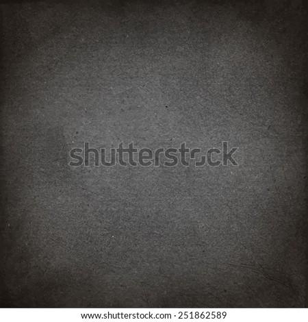 Background texture. Vector grunge illustration. Black paper - stock vector