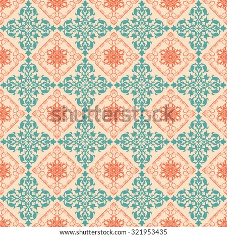 background wallpaper, vintage, abstract art, seamless, pattern, retro background - stock vector