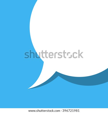 background with a dialog box - stock vector