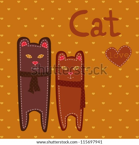 Background with Cats/Cat Love