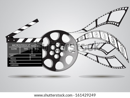 Background with Cinema Motives