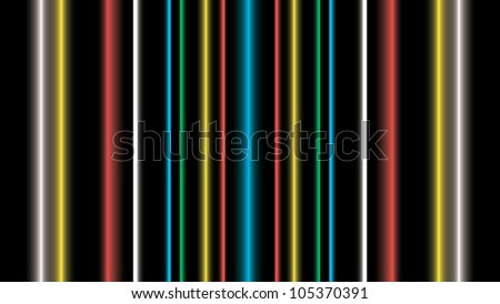 background with color vertical lines - vector