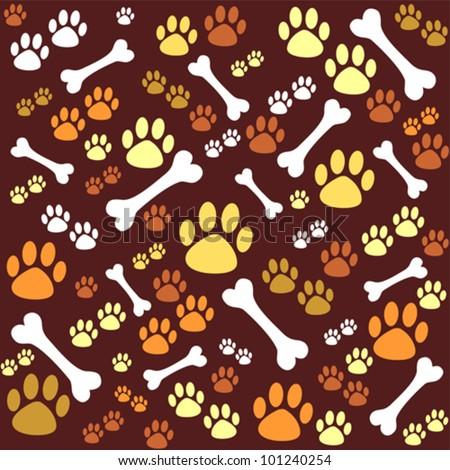 Brown dog bone background - photo#48