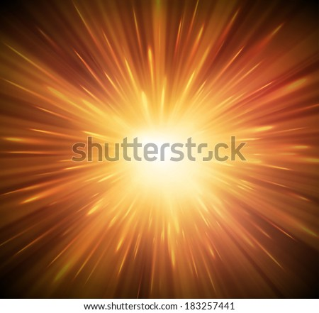 Background with explosion, eps 10 - stock vector