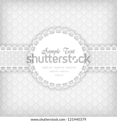 Background with frame. Vector illustration. EPS 10. - stock vector