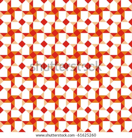 Background with geometric patterns - stock vector