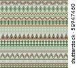 Background with geometrical shapes in brown and green tones - stock photo