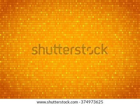 Background with gold plates screen , vector background - stock vector