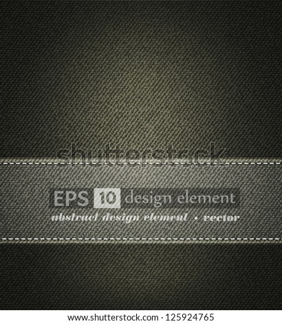 background with gray jeans texture