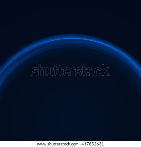 Background with light effect. Glowing circles. Modern colorful blue wallpaper.