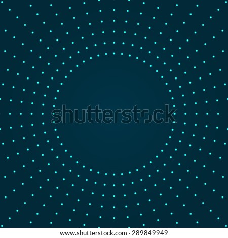 Background with light effect.Glowing circles.Modern colorful green wallpaper. - stock vector