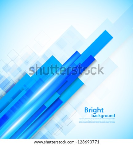 Background with lines - stock vector
