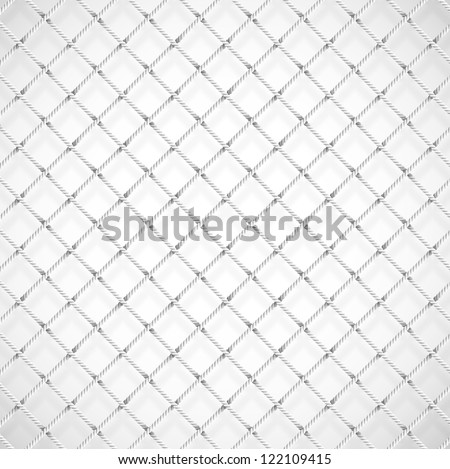 Background with soccer goal net. Eps 10 - stock vector
