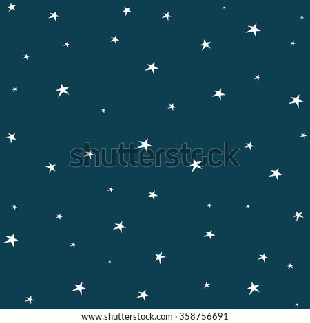 Background with stars. Christmas background. - stock vector