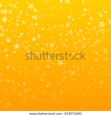 Background with Stars. Design Template. Abstract Vector Illustration. - stock vector