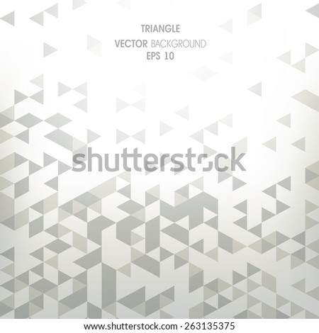 background witha abstract geometry, triangle - stock vector