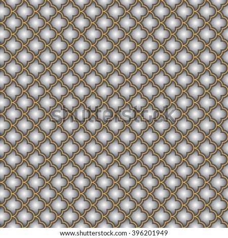 Backgrounds with antique Byzantine ornament. Seamless Background for presentation, flyer or brochure. Greeting Card Abstract Background geometric pattern. Vector illustration.  - stock vector