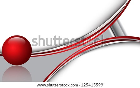 Backround 3D - stock vector