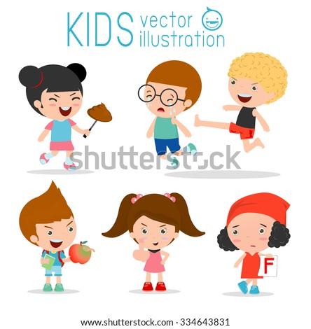 bad child behaviorbad kidsbad boybad girl children bad - Cartoon Picture Of Children