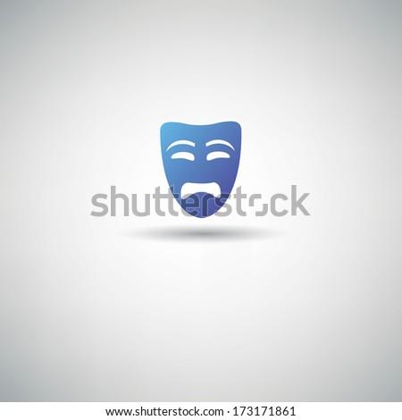 Bad mask symbol,vector - stock vector