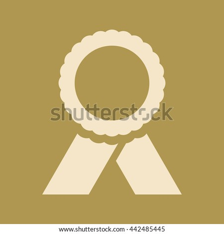 Badge Icon. Eps-10. - stock vector