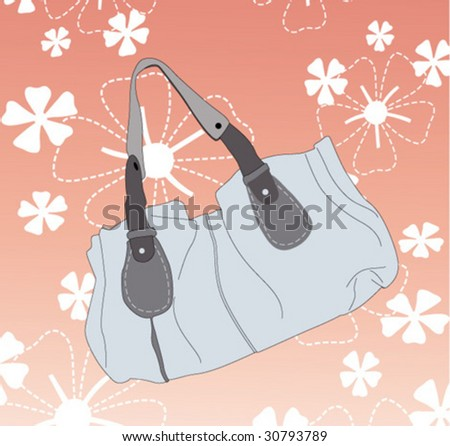 bag - stock vector