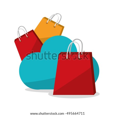Bag cloud and shopping design