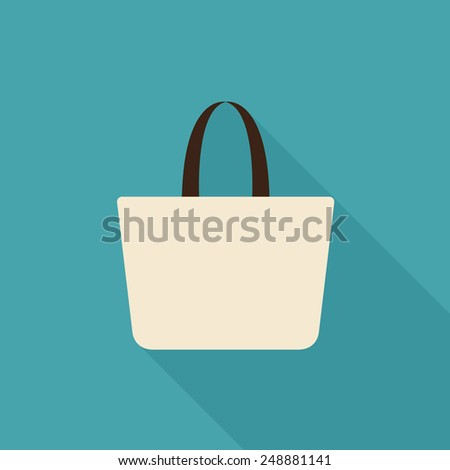 Bag icon - Vector
