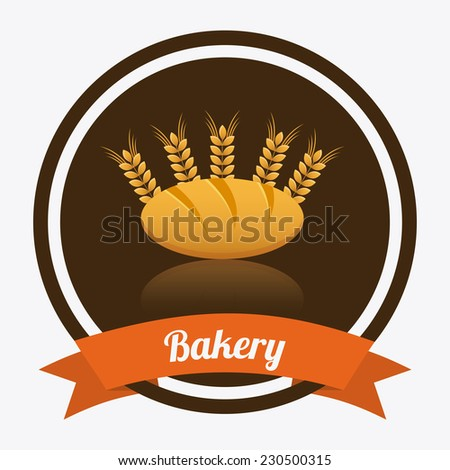 bakery graphic design , vector illustration