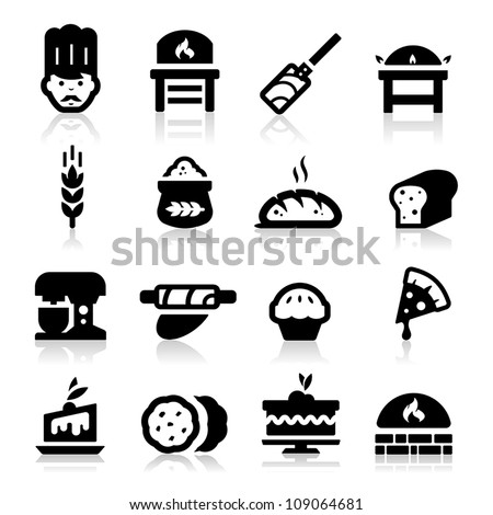 Bakery icon - stock vector