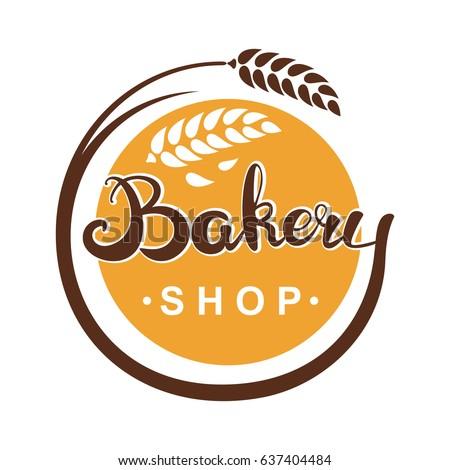 Bakery Logo Stock Vector 637404484 Shutterstock