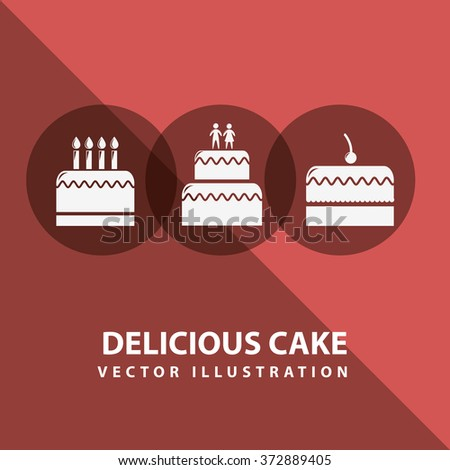 bakery set icons design, vector illustration eps10 graphic