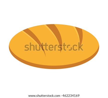 bakery shop product icon vector isolated graphic