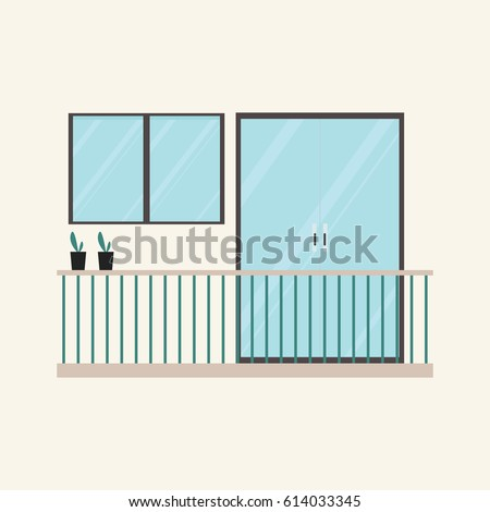 Balcony stock images royalty free images vectors for Balcony vector