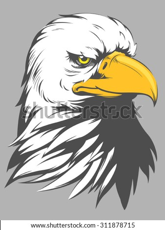 Bald Eagle Head Cartoon