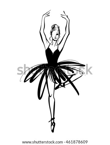 how to draw a ballet tutu