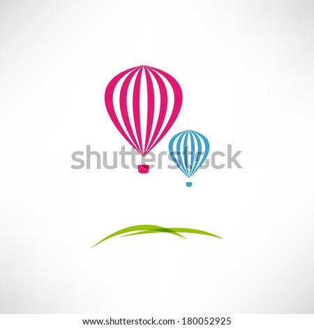 Balloon icon - stock vector