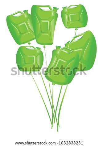 Balloons greeting cards gas station employees stock vector balloons for greeting cards for gas station employees and their customers m4hsunfo