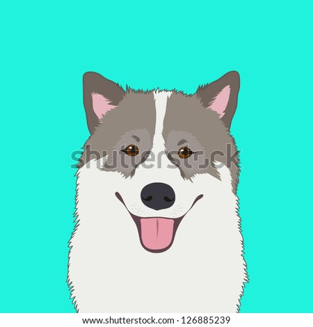 Bangkaew, The buddy dog - stock vector