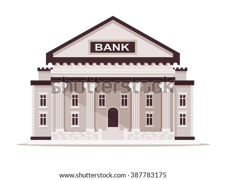 Bank building stock images royalty free images vectors for Bank designs architecture