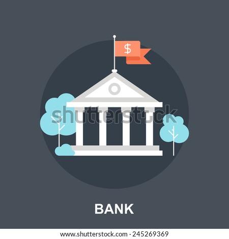 Bank Concept - stock vector