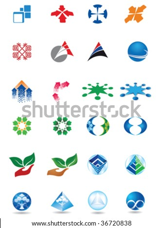 bank financial investment designs - stock vector