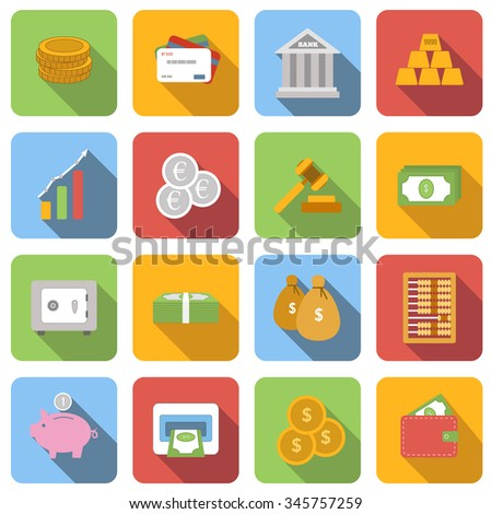Bank icons. Bank icons web. Bank icons art. Bank icons new. Bank icons best. Bank icons flat. Bank icons color. Bank icons shape. Bank icons set. Bank icons isolated. Bank icons illustration - stock vector