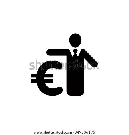 Bank loans sign icon. - stock vector
