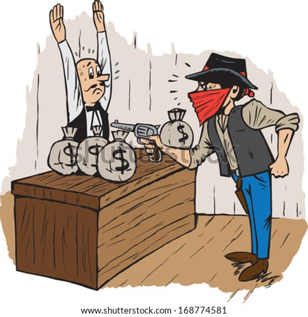 the robbery Robbery the taking of money or goods in the possession of another, from his or her person or immediate presence, by force or intimidation robbery is a crime of theft and can be classified as larceny by force or by threat of force.